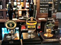 Real cask ales in a Thirsk pub