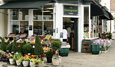 The Greengrocer Thirsk Market {lace