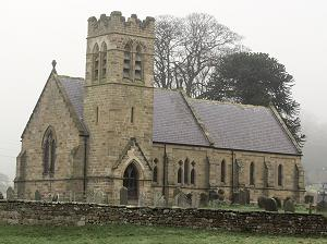 St Wilfrid's church Kirby Knowle North yorkshire
