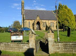 Holy Trinity church Bolby Thirsk North Yorkshire